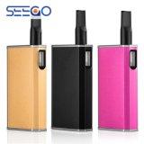 Seego Cbd 필수적인 기름 및 왁스를 위한 2017년 건강 전자 담배 장비 기화기