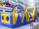 Jeu d'obstacles gonflables de 12 mètres à long