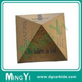 Forma feito-à-medida da pirâmide das peças da alta qualidade