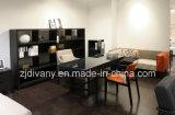 Кресло американской кожи столовой мебели дома типа деревянное (C-49)
