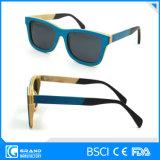 Occhiali da sole di bambù di Eyewear di corsa libera innovatrice del blocco per grafici con il caso