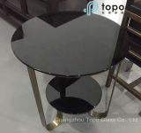 American Black Color Float Glass para mesa de café (CB)