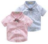 De Kinderen die van de manier de Jongens van de Overhemden van Homewear van de Streep kleden