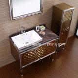 Шкаф стороны тщеты ванной комнаты нержавеющей стали с ногами