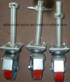 Schwenker-Gestell-Fußrollen-Rad des Aufbaus