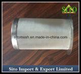 Filtro tecido do cartucho do aço inoxidável de engranzamento de fio