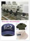 Muti 헤드 자수 기계 4 9-12의 색깔을 수를 놓는 모자와 t-셔츠를 위한 헤드에 의하여 전산화되는 자수 기계