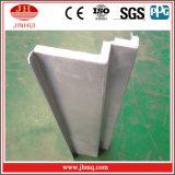 Panneau de mur de PVDF /PE/Cladding/à plat placage de décoration/panneau en aluminium enduits de courber