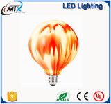la cadena ligera decorativa de las cadenas LED de los bulbos LED del LED enciende el bulbo decorativo creativo blanco caliente del diseño LED 3W de la UL del CE al aire libre