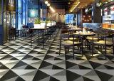 la porcelana Polished 600X600 embaldosa los azulejos de suelo de interior anti-incrustantes del comedor