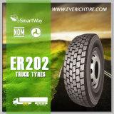 Gummireifen der Aufnahmen-12r22.5 aller Gelände-Reifen-Spitzenmarken-Gummireifen-LKW-Reifen
