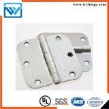 Шарнир двери стали или медный оборудования H63 с UL (шарнир приклада шаблона 3.5 дюймов)