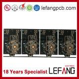 1.0mm 4 Schichten Enig-elektronische patrouillierende Systems-Leiterplatte Schaltkarte-