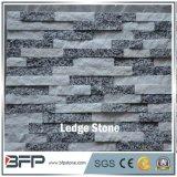 Piedra mezclada de Stcked de la cuarcita del color de gama alta para el azulejo de la pared y el revestimiento de la pared del chalet