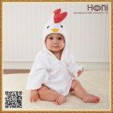 最も新しいデザインフード付きの赤ん坊の浴室タオル