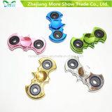 Brinquedos do esforço de Adhd EDC do girador da inquietação do chapeamento do girador da mão anti