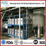 Instalación de tratamiento del agua potable del sistema de la ultrafiltración del uF