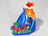 صاحب مصنع مجنون تصميم بركان منزلق قابل للنفخ لأنّ حزب