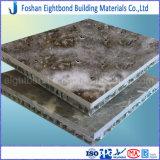 Панель сота красивейшего мрамора гранита травертина конструкции составная алюминиевая