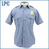 Uniforme fait sur commande de police de chemise de circuit de qualité