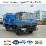 camion di immondizia posteriore del braccio dell'oscillazione di caricamento dell'euro 3 di 4.5ton Dongfeng