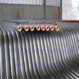 Barre de cuivre plaquée de support de Ti pour la métallurgie humide