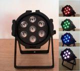 DJ 동위 빛 7X15W 6 In1 Rgbwauv LED Die-Cast 알루미늄 동위는 할 수 있다