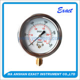 Indicateur d'essai de pression de Mesurer-Minimum de pression de Mesurer-Mbar de pression d'acier inoxydable