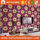 Papier de mur de PVC 3D du prix bas 1.06m de la Chine pour la décoration à la maison
