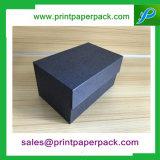 A annoncé le cadre de empaquetage de papier de carton cosmétique de luxe fabriqué à la main de parfum