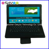 Teclado sin hilos de Bluetooth para la caja del cuero del aire del iPad de Samsung (BK2213)