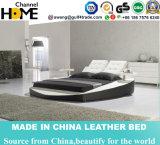 Base gigante de cuero moderna del jugador de música para los muebles del dormitorio (HC307)
