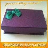 Коробка подарка смычка тесемки бумажная