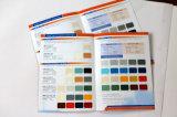 Cartão da cor da pintura da parede do material de construção