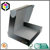 Rectángulo de papel superior de envío de la cartulina acanalada de la impresión en color de la imagen doble por la lámina