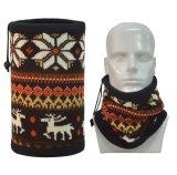 Corsa con gli sci esterna femminile di inverno della sciarpa del collare caldo del collare