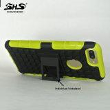Shs Kickstand individual 2 a prueba de choques en 1 caja del teléfono celular para Lenovo K3 Nota