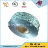 Tipo do rolo e folha de alumínio revestida de empacotamento de alimento do tratamento