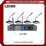 Microfone sem fio da conferência do sistema de conferência de Ls-M2 2.4G Digitas