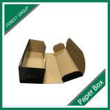 Negro mate de color corrugado caja de cartón en venta