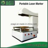 Машина маркировки лазера волокна летания высокой точности миниая для продуктов PE PP