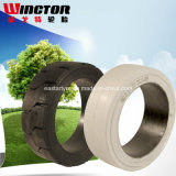 22*8*19 Presionar-en el neumático sólido de la venta al por mayor del fabricante de la ISO de China