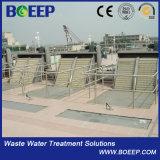 Tela de barra mecânica confirmada Ce da fábrica de tratamento da água de esgoto