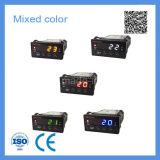Fünf LED-Bildschirmanzeige-Farben-intelligenter Temperatursteuereinheit-Gebrauch mit Temperaturfühler