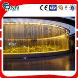 Fuente de interior de la precipitación de la cortina de agua de la decoración de Pasillo