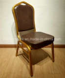 تاج [بك لثر] نجادة معدن ألومنيوم مطعم فندق مأدبة كرسي تثبيت