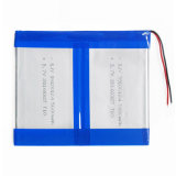 패드 DIY E 책 GPS PSP DVD 힘 은행 정제 PC를 위한 3.7V 5600mAh 39100124 리튬 중합체 Li Po 재충전 전지