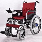 軽量力の足台の電動車椅子