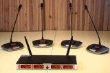 Systeem van de Karaoke van de Microfoon Wireles van Gymsense het UHF Professionele met Handbediende Mic Zender voor KTV of het Spreken & de Toespraak van de Kerk