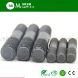 HDG galvanisierte schwarze Oxid-Doppelt-Enden-Gewinde-Stift-Stahlschraube